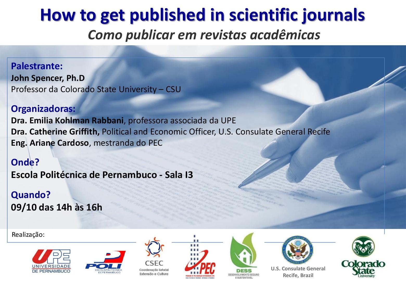Como publicar em revistas acadêmicas