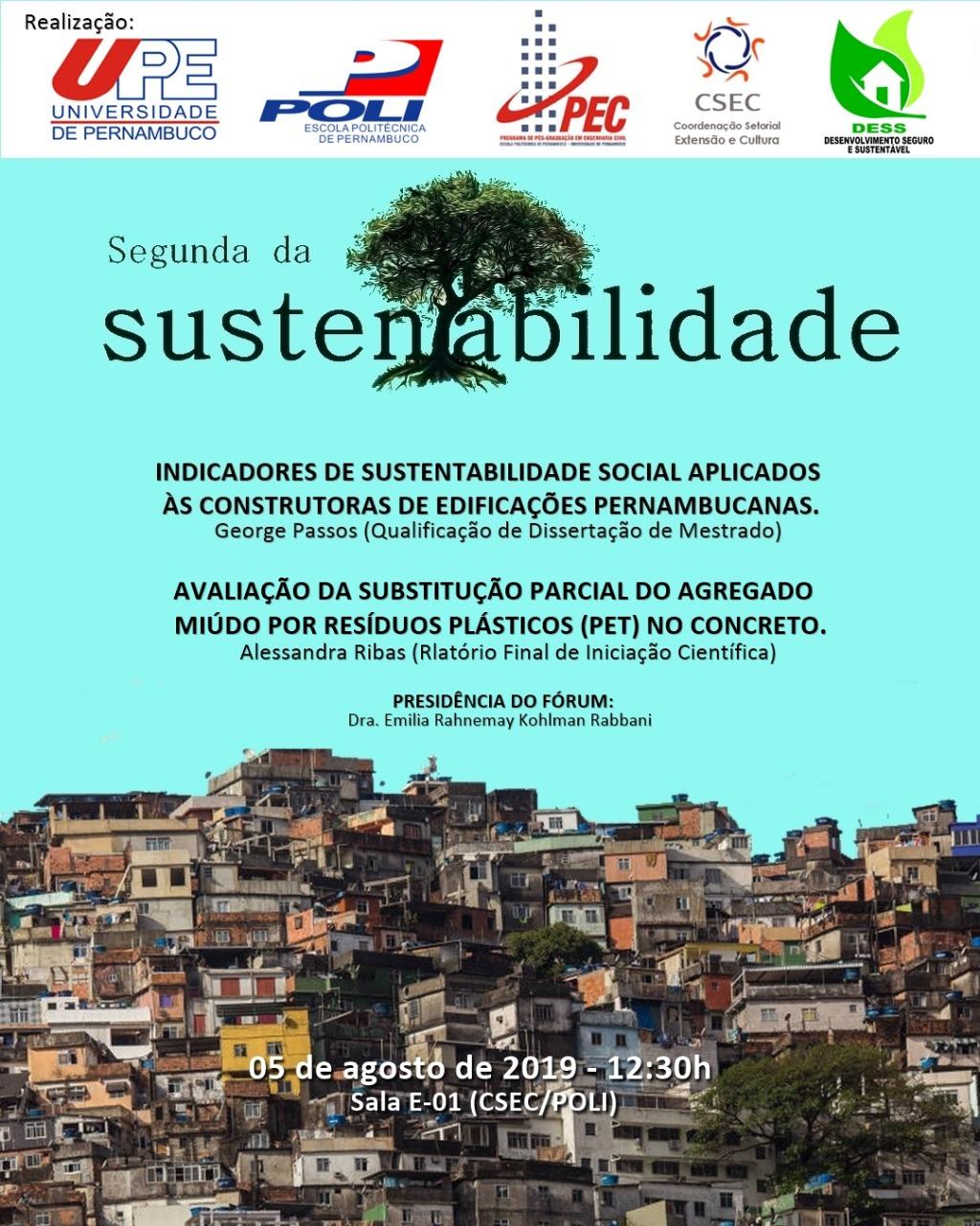 Segunda da Sustentabilidade