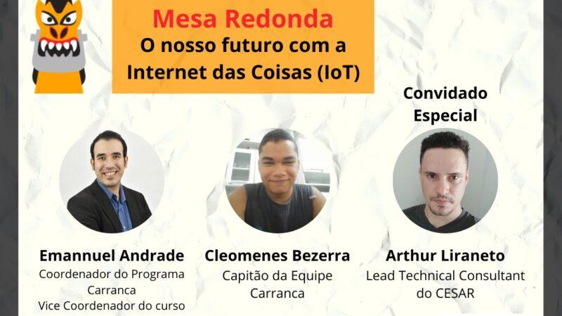 Mesa Redonda – O nosso Futuro com a Internet das Coisas (IoT)